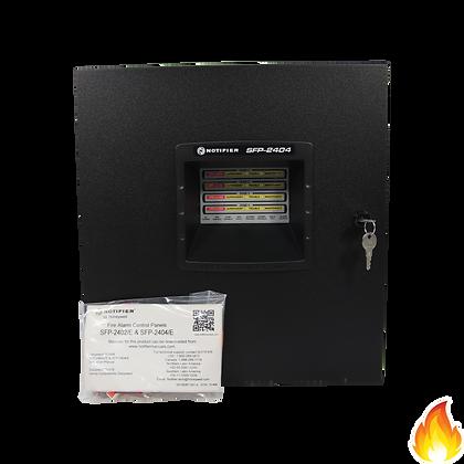 Notifier / 4 Zone Fire Alarm Control Panel, 220/240VAC / SFP-2404E