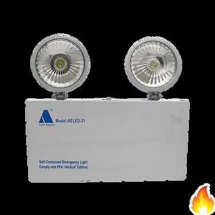 AELED-21/ Wall Mount emergency lighting 掛牆式緊急照明燈