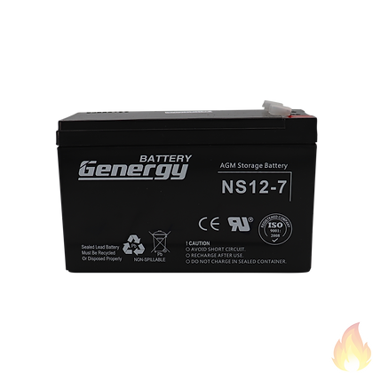 General / NS Series Sealed Lead Acid Battery 12V 7.2AH / NS12-7