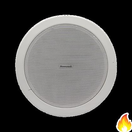 "Honeywell / 5"" Ceiling Loud Speaker, 6/3W, White, Metal Dome / L-PCM06B"