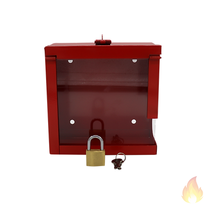 Wah Hung / 消防喉鐵射咀箱連玻璃及鎖 / WH019