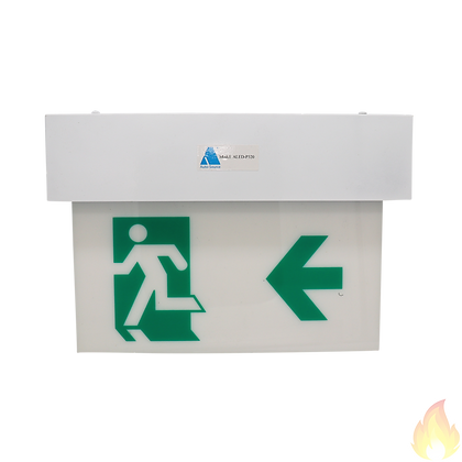 Auto-Source / Wall Mount 3W LED Exit Sign Plate 320mm LED / ALED-P320C