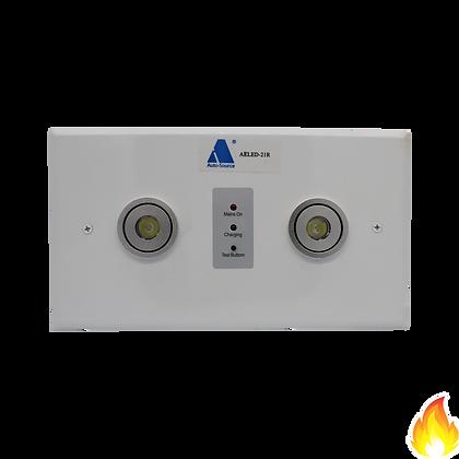 AELED-21R/ 2x1W LED 暗藏式孖眼燈