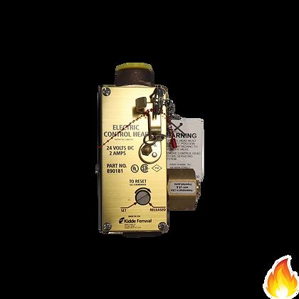 Kidde / Electric Control Head w/ Manual Lever 24Vdc 2.0A / WK-890181-000