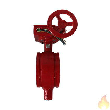 Weilong / Grooved Butterfly Valve, DN150 / Fig: 2902