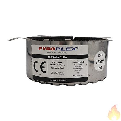 """Pyroplex / Pipe Collar 4hrs 4"""" (110mm)"""