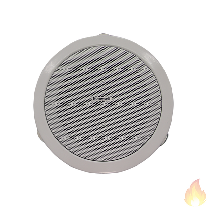 "Honeywell / 5"" Ceiling Loud Speaker, 6/3/1.5W, White, Metal / L-PCM06A"