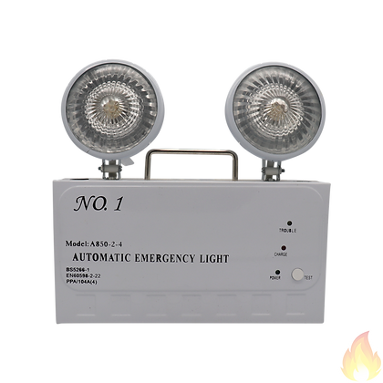 No.1 / 掛牆式緊急照明燈 270x53x280mm / A850-2-4
