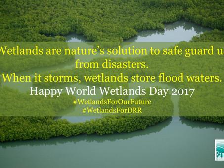 Felice giorno delle zone umide! Happy World Wetlands Day 2017!