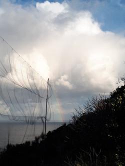 arcobaleno nuvoloso