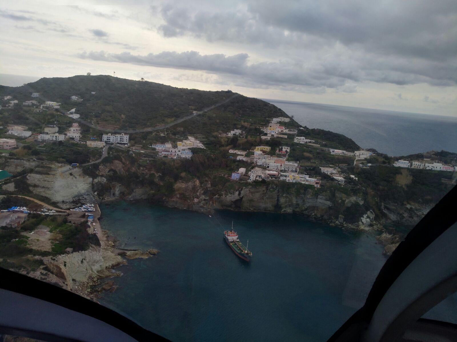 Vista elicottero