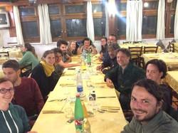 a cena da Damiano