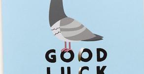 Buona fortuna! Good luck!