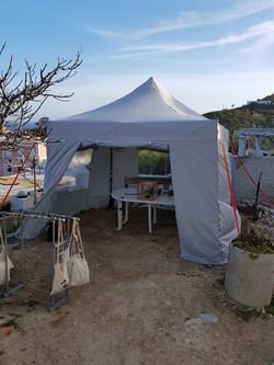 tenda nuova