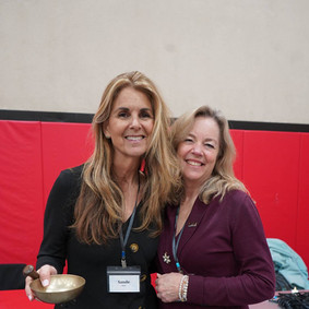 Co-Facilitators and Founders Sande Hart and Brenda Gustin