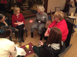1 of 39 Circle Conversations at the Alchemy Event in Tornonto, Canada