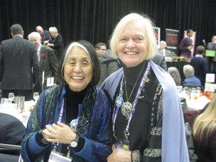 Jean Shinoda Bolen and Ann Smith
