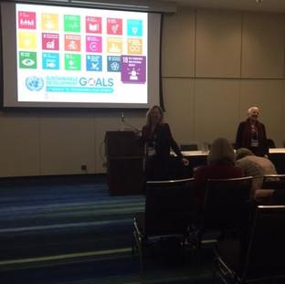 Brenda, Joan and Sande's workshop on SDG18