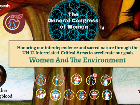 Women and The Environment- The General Congress of Women