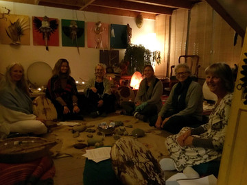Alchemy at the Hague in the Netherlands With Grandmother Angelic Boas