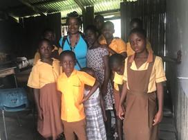 Classroom at Nzulezo