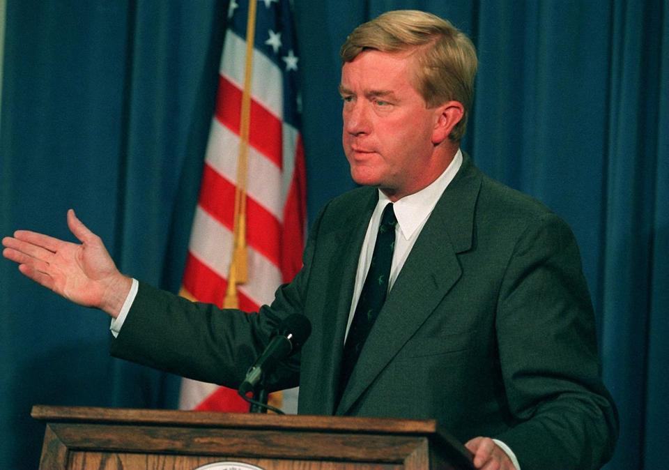 Governor William Weld