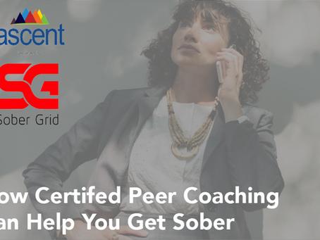 How Peer Coaching Can Help You Get Sober