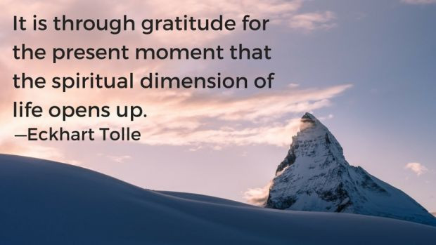 Gratitude Can Improve Your Life