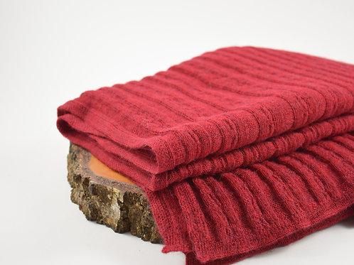 Leichte Decke aus 100% Baby Alpaca
