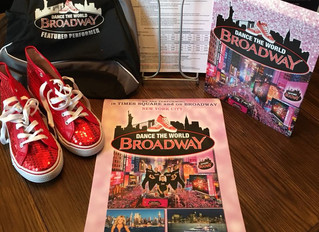 Auditions for DANCE THE WORLD BROADWAY is Wednesday August 8th at 5:30pm (Dance Studio in Carleton P