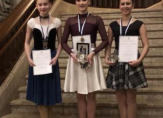 BATD Sadie Simpson Highland Dance Scholarship Results