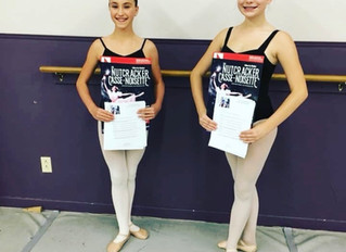 Olivia Davis and Brooklyn Baker Chosen to Dance in the Nutcracker