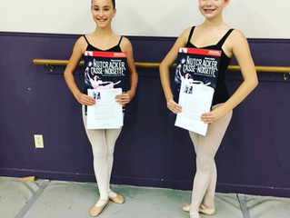 Olivia Davis and Brooklyn Baker Chosen to Dance in the Nutcracker