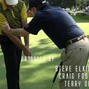 Steve Elkington and Craig Foster at Portland Golf Club  Portland Oregon