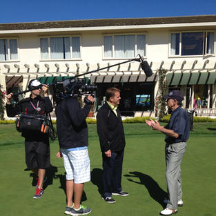 Craig Foster on The Golf Channel at Pebble Beach