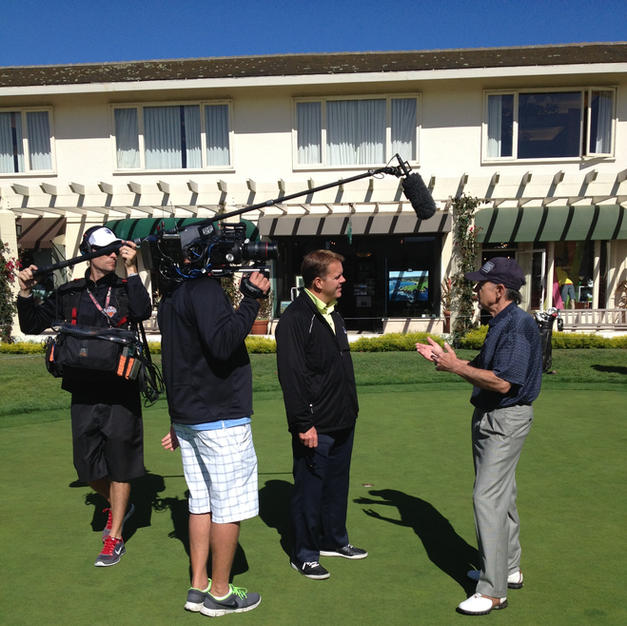 Craig Foster Golf Channel at Pebble Beach