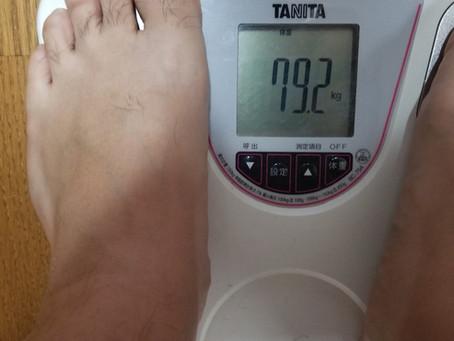 (ダイエット)14日目81.4kg~79.2kgへ。序盤の山場!リバウンドの戦い。