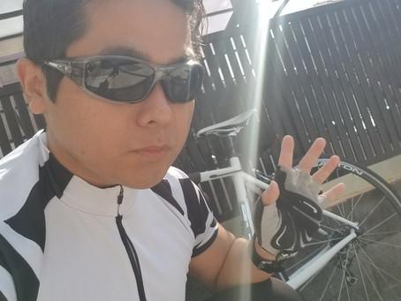 (有酸素運動)ロードバイクで45km走ってきました。