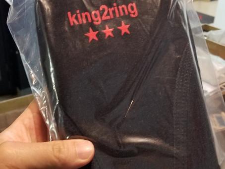King2ringの肘サポーター買いました!