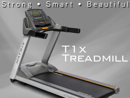トレッドミル(ランニングマシン)MATRIX T1x