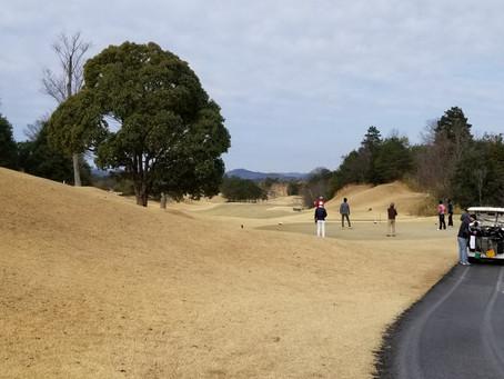久しぶりのゴルフ!