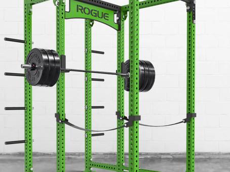 Rogue Fitnessのパワーラックがカッコいい!
