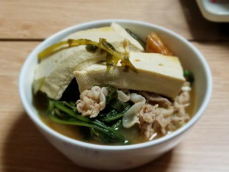 寒くなってきたらスープ!ボディメイクの基本は筋トレと食事!