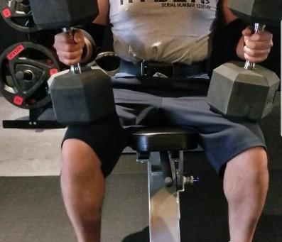 久しぶりの胸トレーニング!とにかく深く!!を意識してみました。