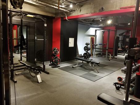 本日2/1オープンしました!本日からトレーニングできます。