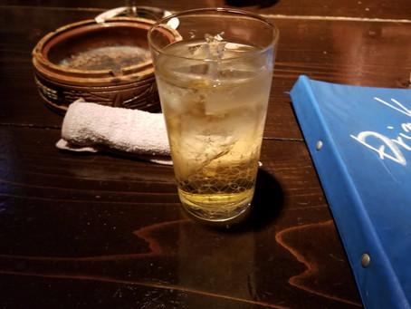 トレーニーの味方のお酒!ハイボール~~~。忘年会はこれで乗り切りましょう。