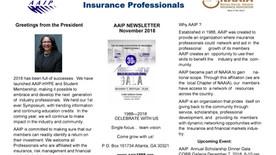 AAIP Newsletter | November 2018