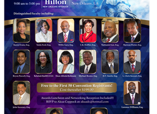 See who's presenting for the National Bar Association Annual Convention?!?!