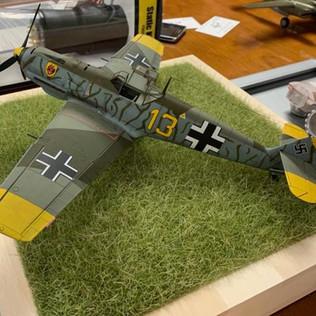 Jose Morales Jr. 1/32 Eduard Bf-109 E-4