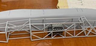 Joe Scavotto & Gale Brown 1/16 Scratch-built Speed Demon LSR
